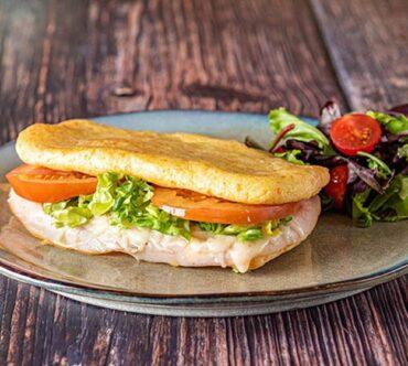 Pao De Queijo Sandwich