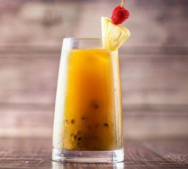 Passion Fruit, Pineapple & Coconut Water
