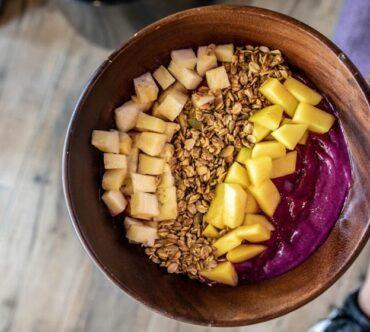 Tropical Dragon Fruit Bowl