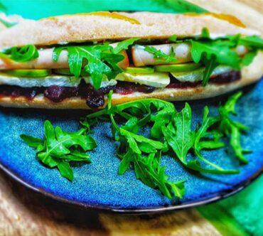 Turkey Baguette Sandwiches